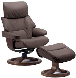 ergonomic lounge chair fjords grip leather recliner chair r frame