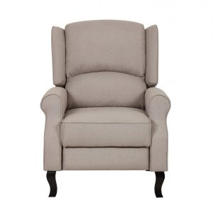 fabric recliner chair contemporary linen fabric accent recliner chair s