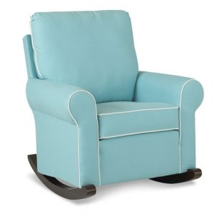 fabric rocking chair pd