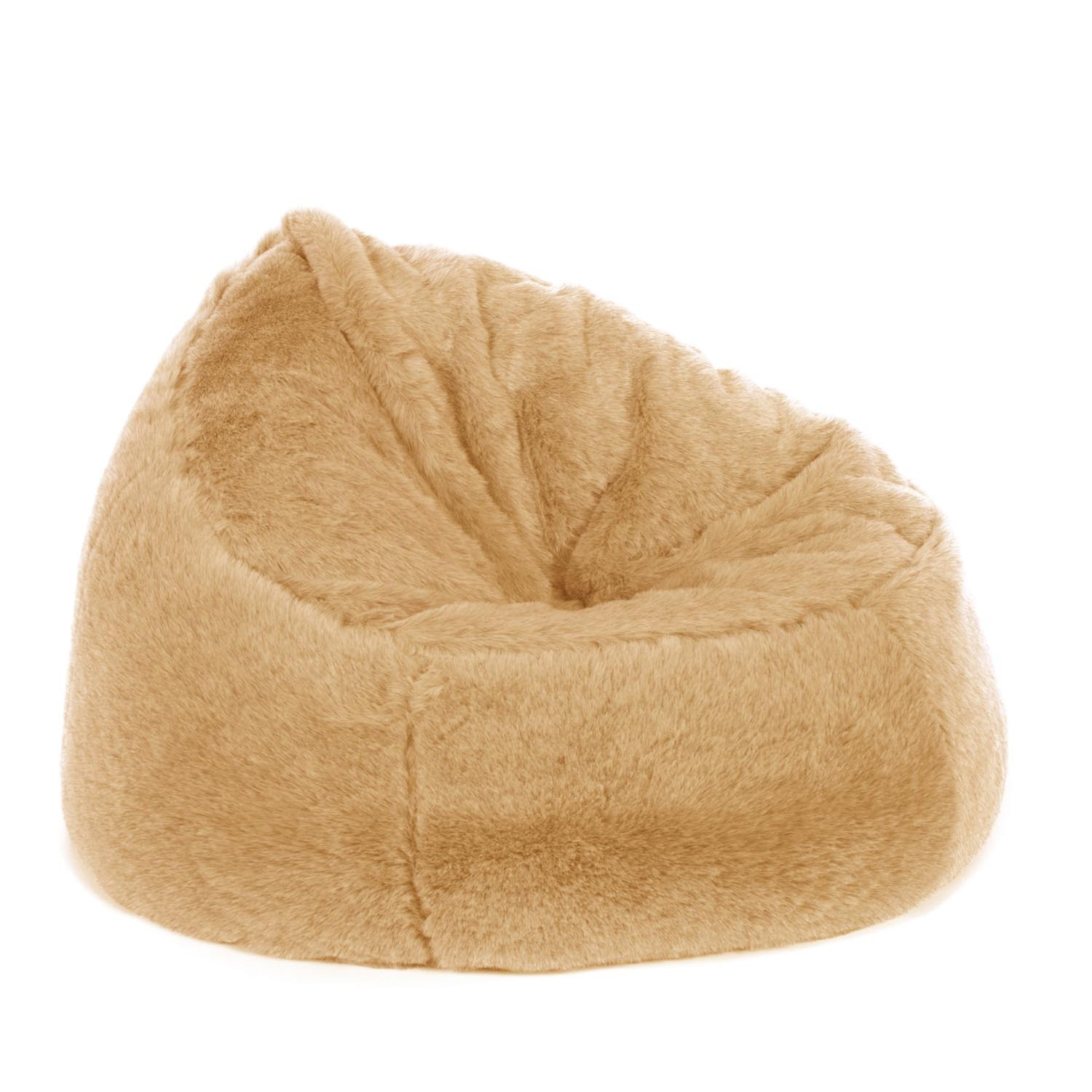 Brilliant Faux Fur Bean Bag Chair Top Blog For Chair Review Pdpeps Interior Chair Design Pdpepsorg