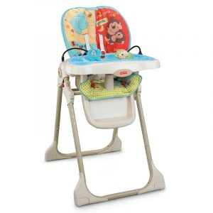 fisher price high chair fisher price baby zoo high chair