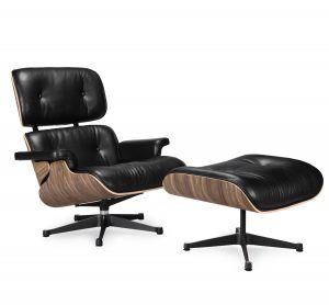 floor lounge chair eames chair reproduction black walnut