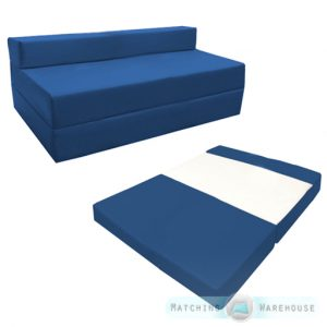 fold bed chair zbd b blue