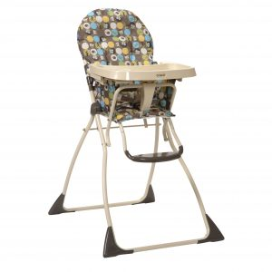 foldable high chair awv cosco flat fold high chair into the