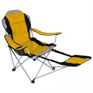 folding chair with footrest i ts