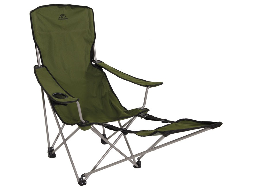 folding chair with footrest