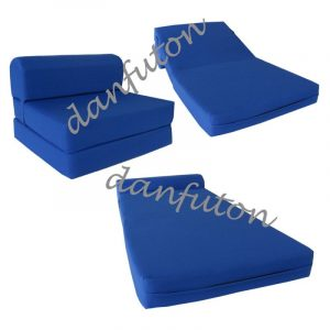 folding foam chair full size sleeper chair folding foam bed sofa royal ebay