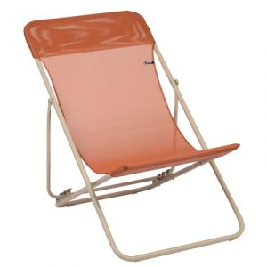 folding sling chair lafuma maxi transat folding sling chair
