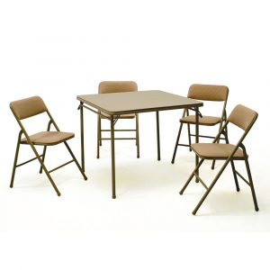 folding table and chair set s l
