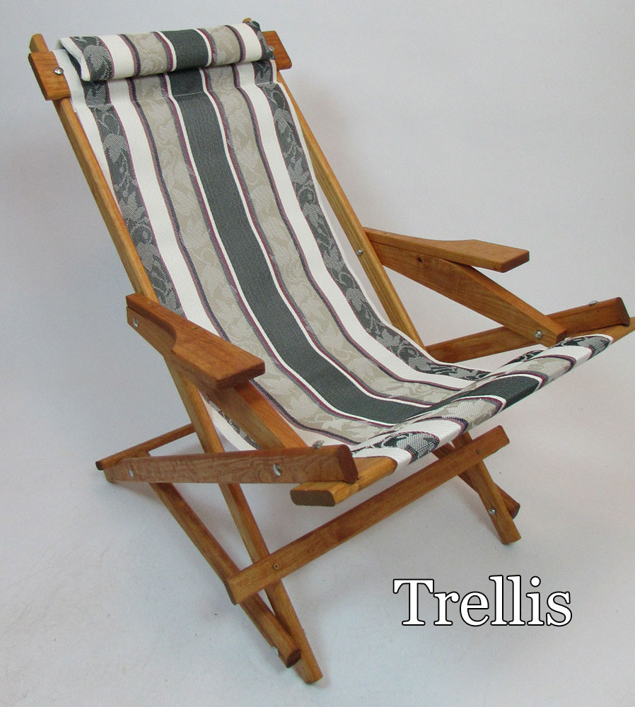 folding wooden rocking chair