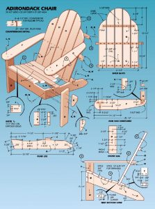 free adirondack chair plans popular mechanics adirondack chair plan