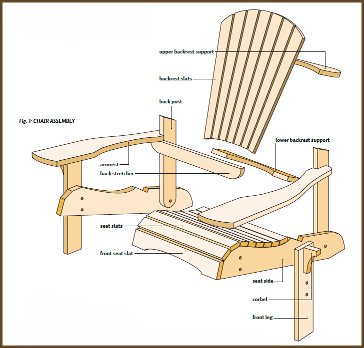 free adirondack chair plans simple adirondack chair plans