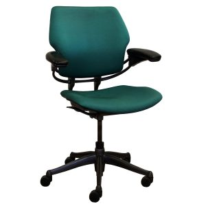 freedom task chair humanscale green