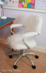 fury desk chair fur desk chair