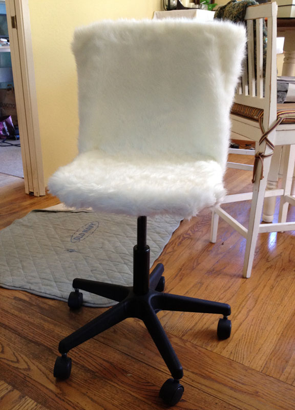 fury desk chair