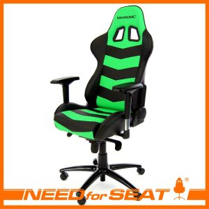 gamer computer chair thunderbolt green