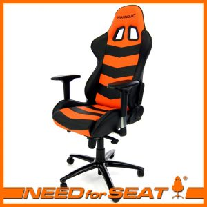 gamer computer chair thunderbolt orange