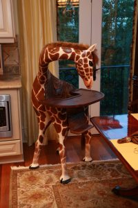 giraffe high chair cq x