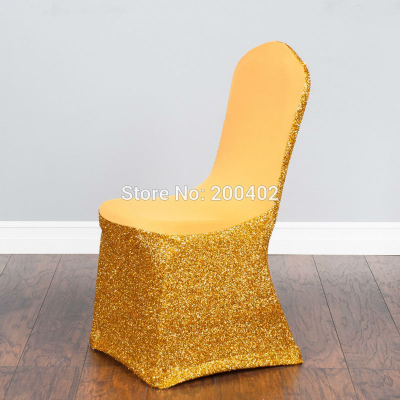gold chair covers