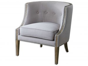 gray accent chair ut zm