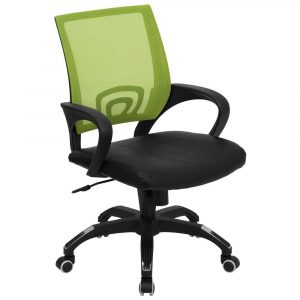 green office chair mesh green office chairs with black leather seat