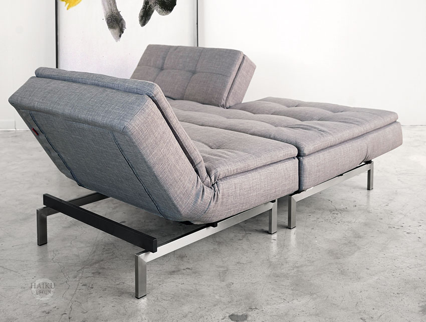 grey lounge chair