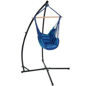 hanging hammock chair with stand ly hcs os combo oasis