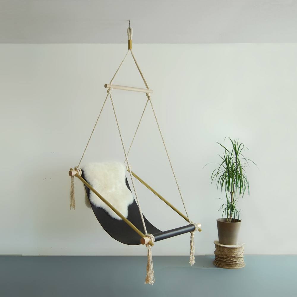hanging inside chair