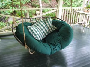 hanging papasan chair hanging papasan double size porch