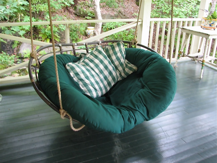 hanging papasan chair