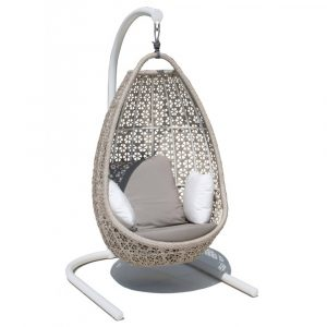 hanging pod chair journey hanging chair seashell low