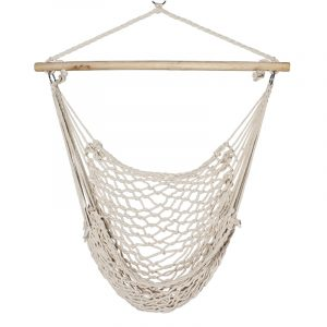 hanging rope chair e