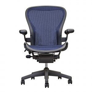 herman miller aeron chair aeron chair by herman miller basic sapphire