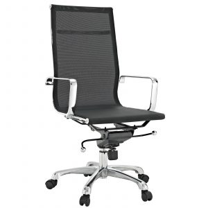 high back mesh office chair eei blk
