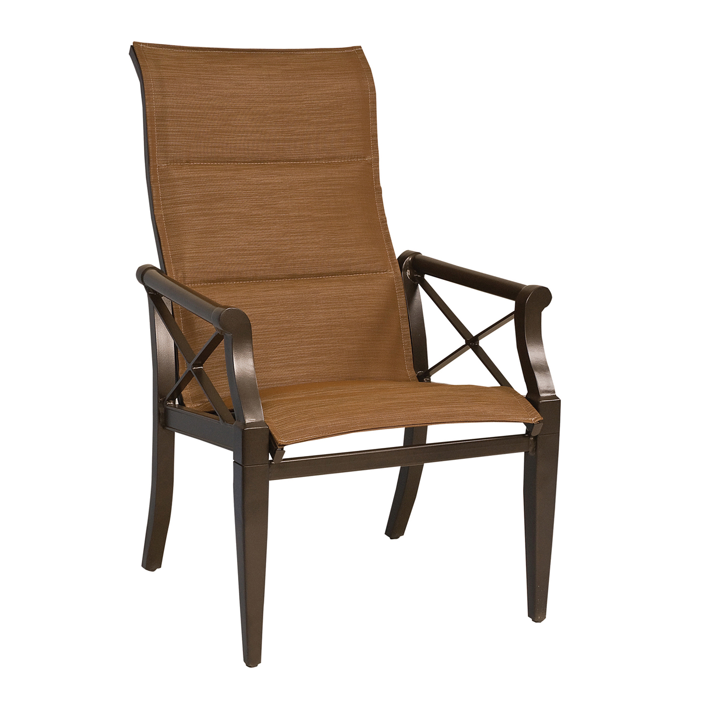 high back outdoor chair q