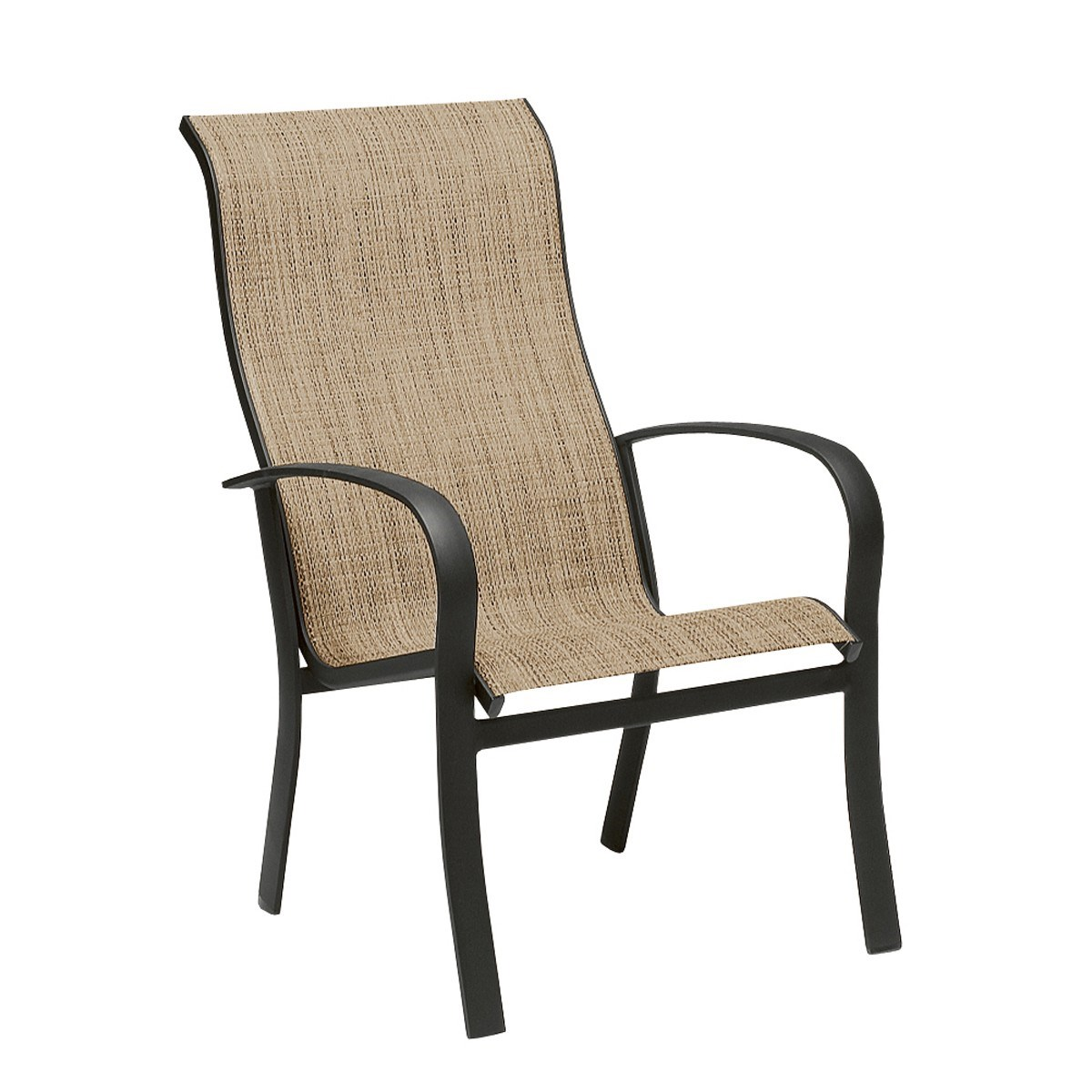 high back outdoor chair