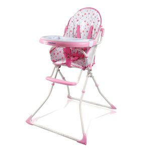 high chair for baby girls hcd red