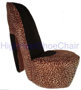 high heel shoe chair leopardhighheelsho chair highheelshoechai