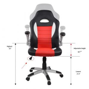 homall racing chair homall ergonomic racing chair