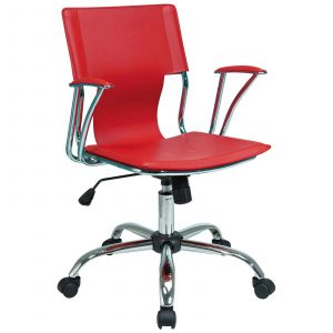 home office chair avenue six red stylish office chairs from office star