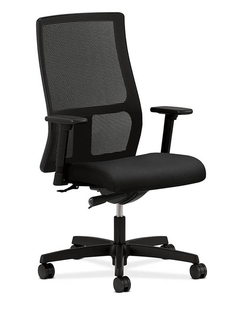 hon ignition chair hon ignition series mid back mesh work chair hiwm raw