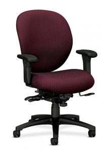 hon office chair hon unanimous pneumatic mid back office chair h raw