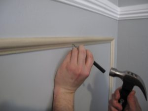 how to install chair rails img