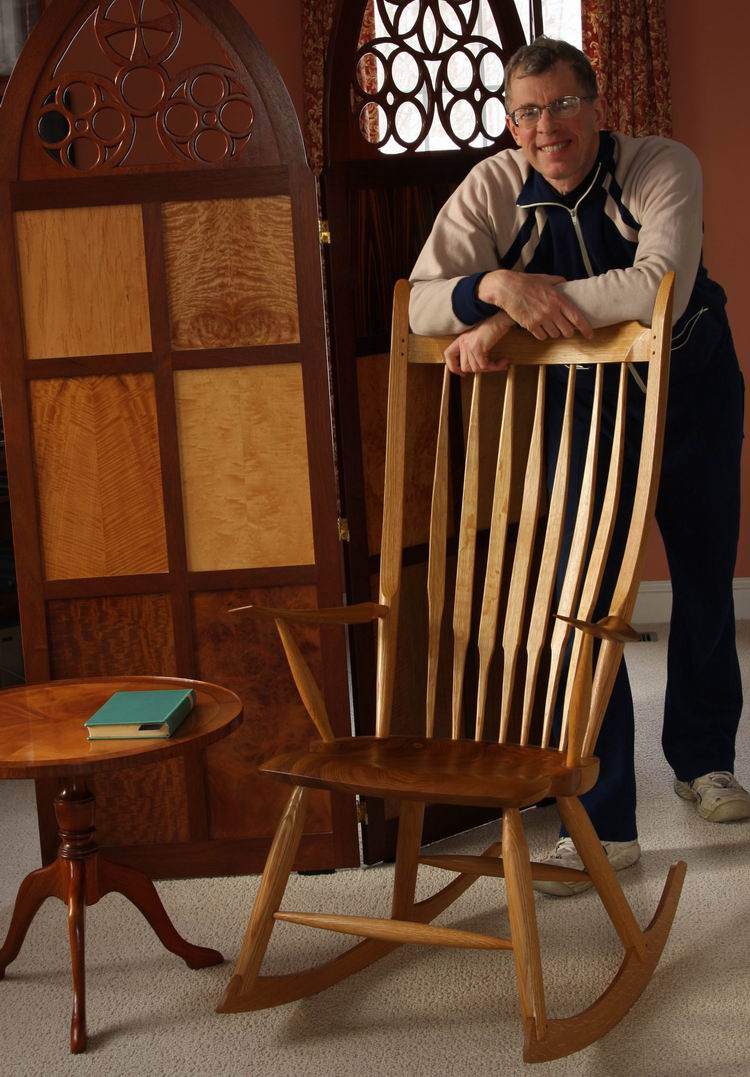 how to make a rocking chair