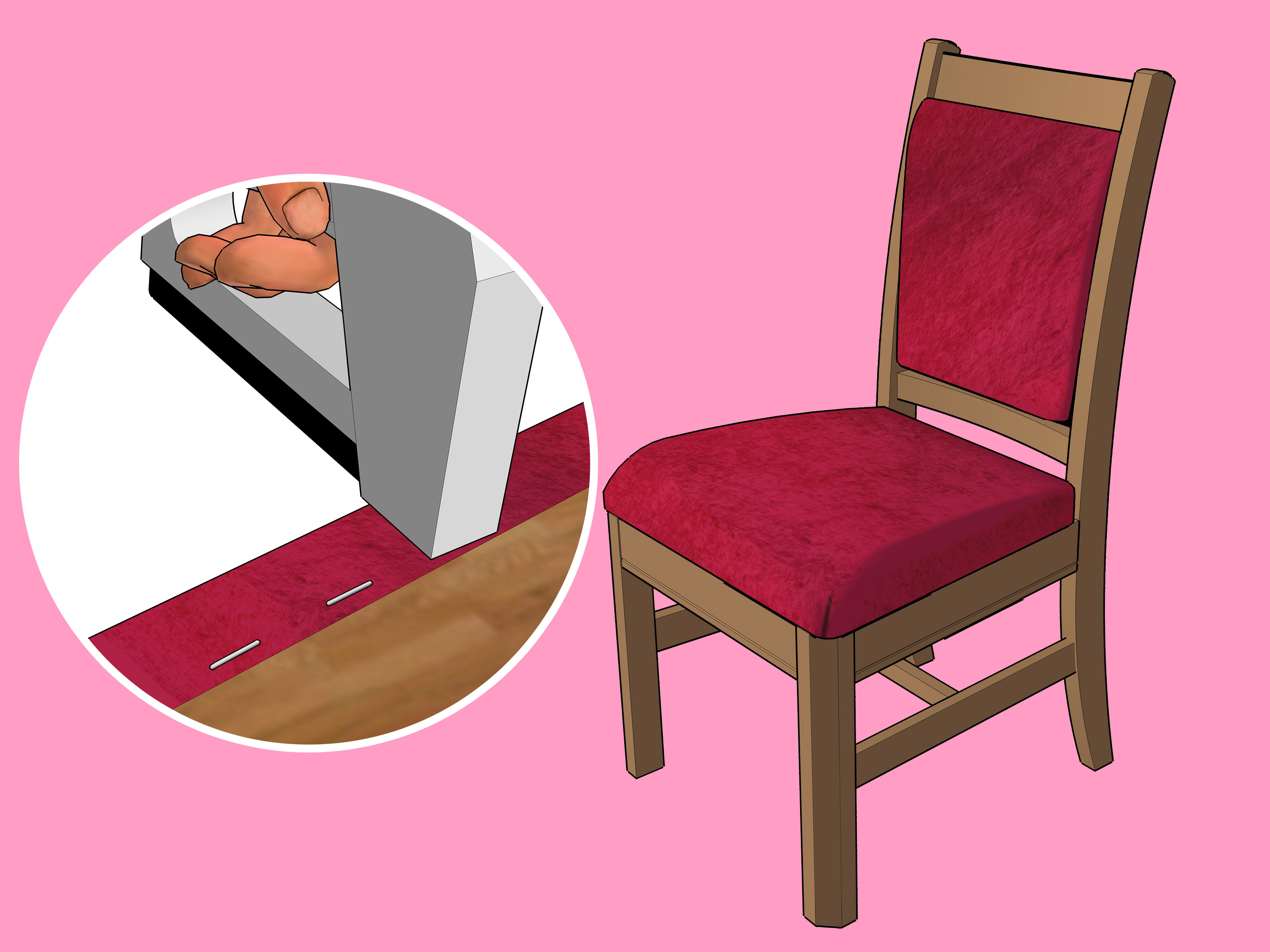 how to reupholster chair reupholster a chair step