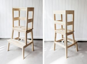 ikea toddler chair ikea hack learning tower