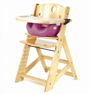 infant high chair keekaroo height right high chair tray infant insert natural lilac