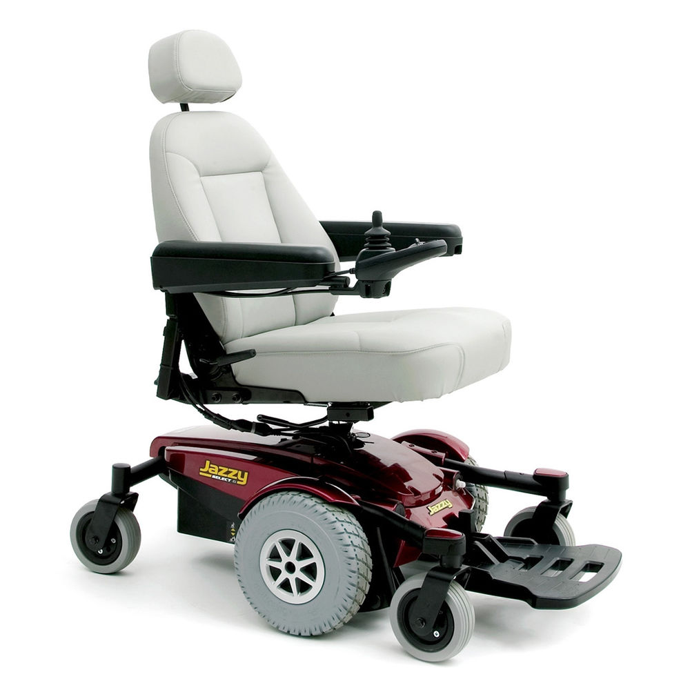 jazzy select power chair s l