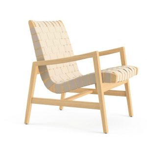 jens risom chair jens risom lounge chair with arms maple flax angled knoll x