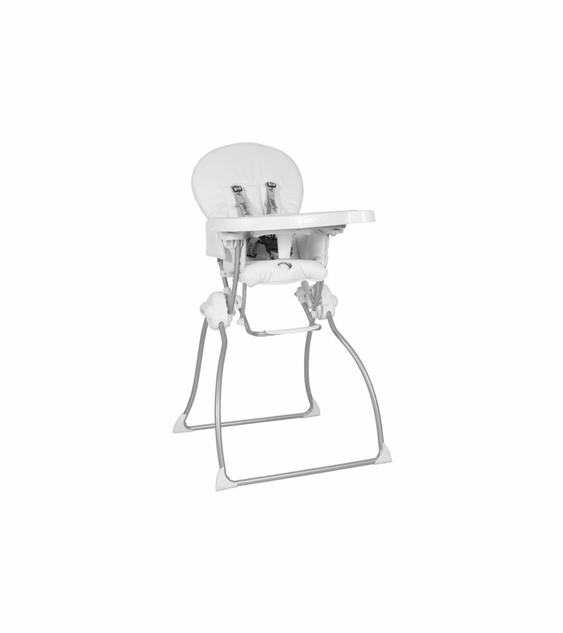 joovy high chair joovy nook high chair in white leatherette